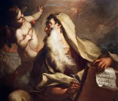 Prophet Isaiah - painting by Antonio Balestra (18th century)