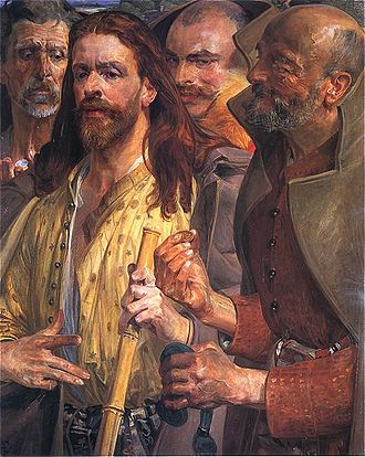Painting by Malczewski Jacek, Render unto Caesar
