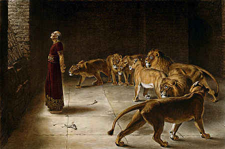 Daniel's Answer To The King - Briton Rivière