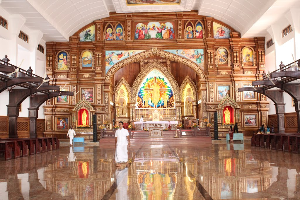 St.Thomas Church,Malayattoor,Kerala,South India