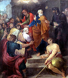 Peter's Conflict with Simon Magus