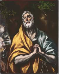 El Greco, The Repentant St. Peter, c. 1600-1605