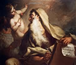 Prophet Isaiah - painting by Antonio Balestra (18th century)