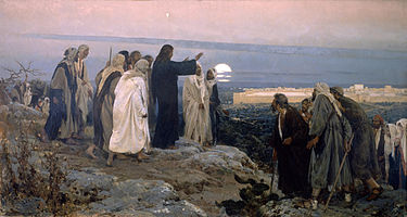 """Flevit super illam"" (He wept over it); by Enrique Simonet, 1892."