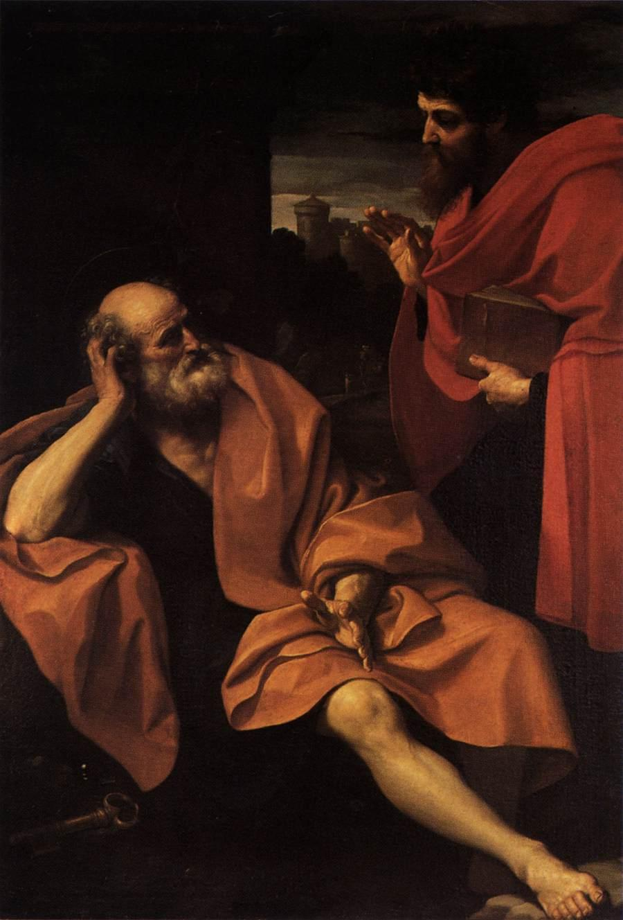 Saint Peter and Saint Paul Jose' de Ribera - circa 1616