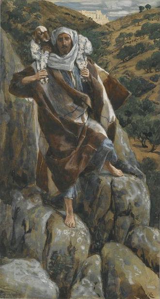 James Tissot - The Good Shepherd (Le bon pasteur) - Brooklyn Museum
